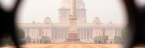 Government of India – Delhi. Husker ikke helt hva det heter, men fikk nå tatt et bilde :)
