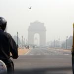 Også Delhi har sin triumfbue.