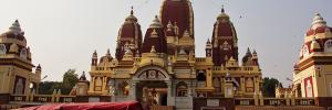Et vakkert hindu-tempel som John viste meg.