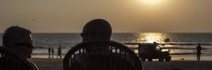 Goa - Solnedgang